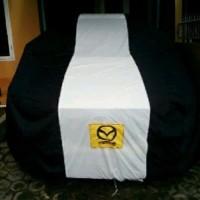 Kualitas Terbukti Selimut Mobil Mazda 2 DOUBLE COVER 1 garis selimut