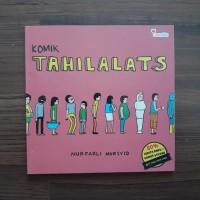 Buku Komik Tahilalats Nurfadli Mursyid Tanda Tangan Stiker TTD