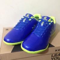 Sepatu Futsal Anak Kelme Star Junior Royal Lime