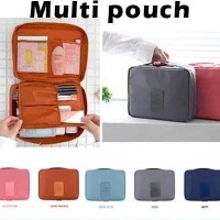 Travel Pouch Tas Multifungsi Serbaguna Organizer Kosmetik Bags Make up