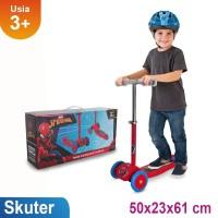 Mainan Anak Skuter Roda Tiga Alloy Spiderman Ocean Toy RMB - HS005