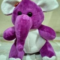 SALE!! boneka gajah ungu kecil