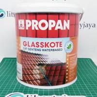 2.5lt Glasskote Teracotta (Water Based) Cat Genteng PROPAN