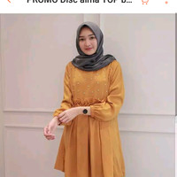 tunik wanita/blouse wanita/blouse muslim