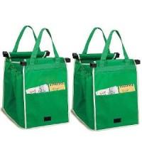Termurah - Tas Belanja Grocery Tote Bag Go Green Hijau