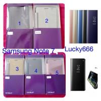 Flip wallet autolock flip case samsung galaxy note 7 note7 note fe