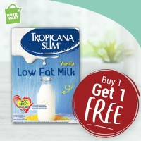 Buy 1 Get 1 Free Tropicana Slim Low Fat Milk 500gr