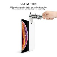 Pitaka Tempered Glass iPhone XS PITAKA Glass 0.3mm (Case Friendly)