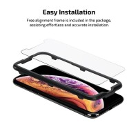 Pitaka Tempered Glass iPhone XS MAX PITAKA Glass 0.3mm (Case Friendly)
