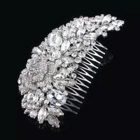 Bride Wedding Hair Accessories AR018 / Headpiece / Aksesoris crystal