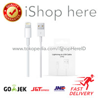 Kabel Charger Data Lighting to USB Cable iPhone Original Apple