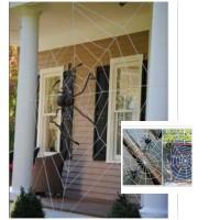 Dekorasi Halloween Spider Web