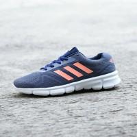 Sepatu Sport Adidas Duramo Running Pria Biru Navy Big Size - ZR 06
