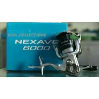 Reel SHIMANO NEXAVE 6000 4bb drag 8kg katrol pancing made in Malaysia