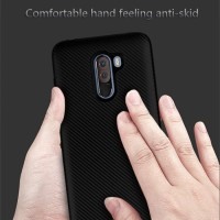 Case Xiaomi Pocophone F1 2018 Full Carbon Casing Softcase Poco F1