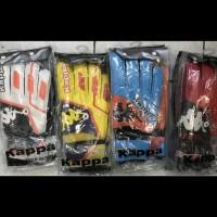 Sarung tangan kiper tulang kappa penalty tebal import