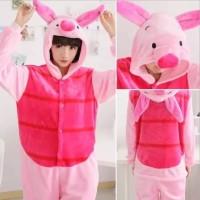 Kostum Winnie The Pooh Pink Adult