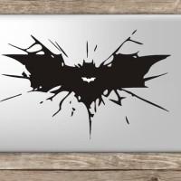 Mac 027 macbook decal sticker vinyl aksesoris laptop batman wing Prom