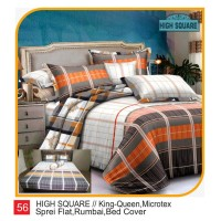 Rumindo Bedcover Set High Square