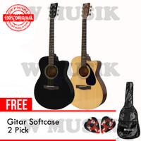 Yamaha Gitar FS 100 C/ FS100C - (Tersedia 2 Warna) + Softcase & 2 Pick