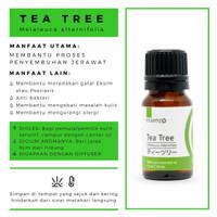 Tea Tree Essential Oil ( Jerawat)