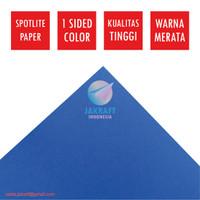 Kertas Karton Asturo Warna Biru Blue (60 x 40 cm) Scotlite