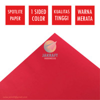 Kertas Karton Asturo Merah Tua Maroon (60 x 40 cm) Scotlite