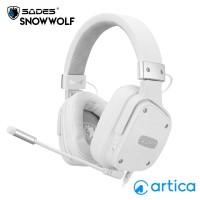 Sades Snowwolf SA-722S Gaming Headset