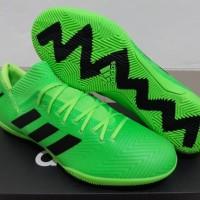 Sepatu Futsal Adidas Nemeziz Messi 18.3 Electric Green