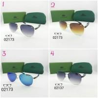 Kacamata pria cowok wanita cewek Lacoste 02173 Polarized super