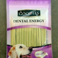 Snack Anjing Goodies Dental Energy Treat Stick Chlorophyll 125g 030799