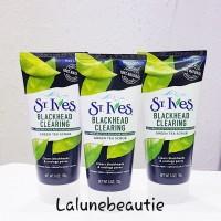 St.ives green tea scrub blackhead clearing 170g