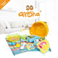 Anasha Rayyan Tempat Bekal Puzzle Seru Untuk Anak