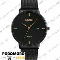 Jam Tangan Pria Analog SKMEI 9164 Black Water Resistant 30M