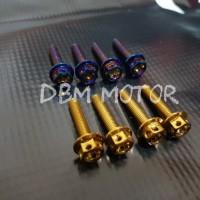 BerandaOtomotif Aksesoris Motor Baut-baut Baut Windshield Probolt Xmax