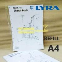 Lyra Refill Sketch book A4/Isi Sketchbook Lyra - 9211260