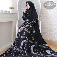 Busana Muslim Gamis Syari Pesta Monalisa Syamara Terbaru