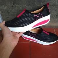 Jual Sepatu Slip On Jaring M SP62 HITAM Limited