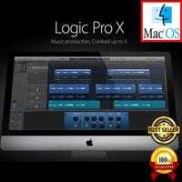 Apple Logic Pro X 10.4 MAC MAC OS X Full Versi DVD Software