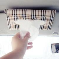 Tempat Tissue Sunvisor Mobil Holder Tisu Car Motif Kotak Tissue Mobil
