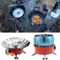 Kompor Camping Windproof/ anti badai Kovar