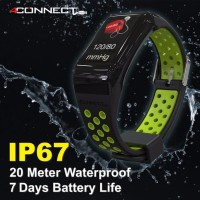 Smartwatch dgn Tensi Meter Versi 2 Animated Color LED