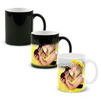Gelas Magic Foto Muncul Kalau Panas Mug Color Changing Custom Cetak