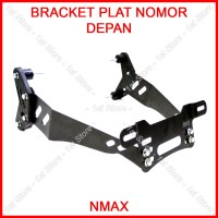 Bracket Plat Nomor Depan Nmax Spakbor Dudukan Braket Breket Spakboard