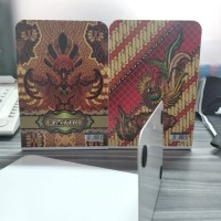 Endbook/pembatas buku BATIK Indonesia /book end besi