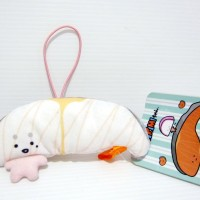 Boneka Kirimi Chan Original Sanrio A Fillet Of Salmon White