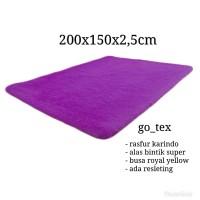 karpet bulu rasfur tebal 2cm