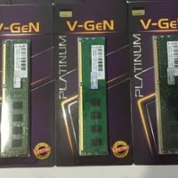 RAM Memory VGEN DDR3 4GB PLATINUM PC 12800/10600