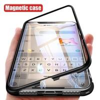 Casing Magnet Iphone 6 6+ 6 Plus 7 7+ 8 8+ X XS Case Tempered Bening