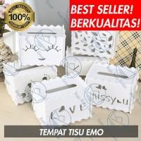 KOTAK TISU TEMPAT BOX TISSUE LUCU PROMO MURAH SERBAGUNA DIY S425